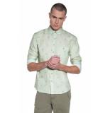 Victim Casual overhemd met lange mouwen groen