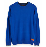 Scotch & Soda Pullover 152350 blauw