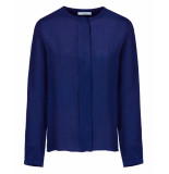 By-Bar Amsterdam Blouse 19412004 indy blauw