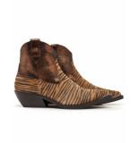 Via Vai Cowboy laarzen 5321084 zebra maringa bruin