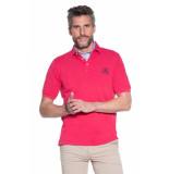 Campbell Polo met korte mouwen roze