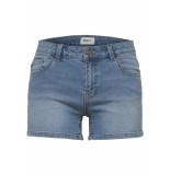 Only Onlcarmen reg dnm shorts bb mah114 15176796 light blue denim blauw
