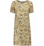 Pieces Pcsussie ss dress d2d 17101336 bisson/leopard