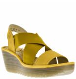 Fly London Dames sandalen geel