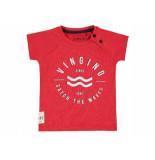 Vingino Shirt korte mouw huck rood