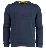 Hugo Boss Salbo sweater 50399391/414 blauw
