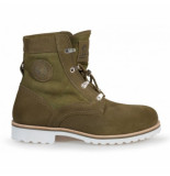 Panama Jack Boots route boot reporter c4 velour trufa truffle groen