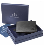 dR Amsterdam Creditcard-etui Zwart One size