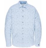 Cast Iron Overhemd csi195602 blauw