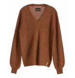 Maison Scotch Pullover 153163 bruin