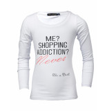 Be a Diva T-shirt addict white wit