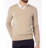 Gran Sasso Trui v-neck pullover beige