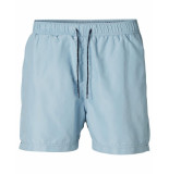Selected Homme Zwembroek classic swimshort dusty blue blauw