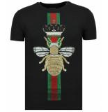 Local Fanatic King fly glitter t-shirt