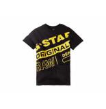 G-Star Shirt korte mouw allove zwart