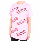Reinders T-shirt a over print roze