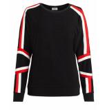 Anna van Toor Sweatshirt 08b04-02689101/1 zwart