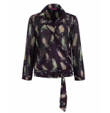 POM Amsterdam Blouse sp5957 paars