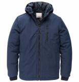 Cast Iron Short jacket supercharger softshel dark sapphire blauw