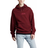 Levi's Relaxed graphic hoodie ssnl rood