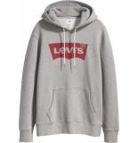 Levi's Graphic po hoodie sweat grijs