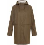 Vero Moda Vmfriday new 3/4 coated jacket 10215104 bungee cord bruin