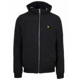 Lyle and Scott Soft shell jacket zwart