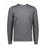 Boss Orange Pullover kwasiros casual grey grijs