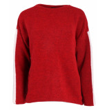 Penn & Ink Pullover w19l102 rood