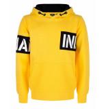 Indian Blue Sweatshirt ibb29-4598 geel