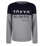Indian Blue Sweatshirt ibb29-4548 blauw