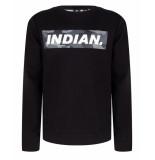 Indian Blue Sweatshirt ibb29-4529 zwart
