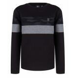 Indian Blue Sweatshirt ibb29-4531 zwart