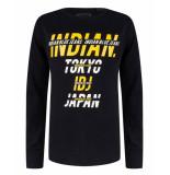 Indian Blue T-shirt ibb29-3554 zwart