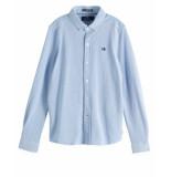 Scotch Shrunk Overhemd 151390 blauw