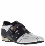 New Rock Heren loafers -zwart wit