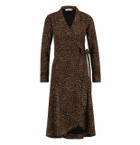 Freebird Dress isaya leopard black/brown