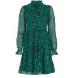 Freebird Dress katie leopard green