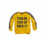 Z8 Sweater vic kids geel