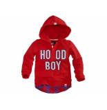 Z8 Hooded sweater rick kids rood