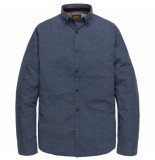 PME Legend T-shirts lange mouw 129914 blauw