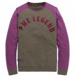 PME Legend T-shirts lange mouw 129927 paars