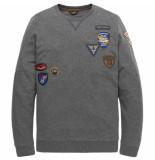 PME Legend T-shirts lange mouw 129928 grijs