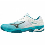 Mizuno Tennisschoen men wave exceed tour 3 clay court reflex blue white blauw