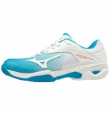 Mizuno Tennisschoen women wave exceed tour 3 clay court blue jewel white blauw