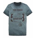 PME Legend T-shirt ptss191512 blauw