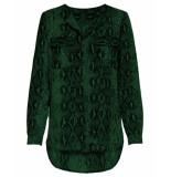 Only T-shirt 15186242 onlkaty groen