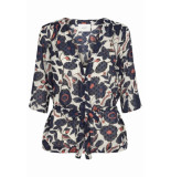 JUST FEMALE Blouse zwart