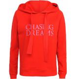 Summum 3s4315-30076 355 hoodie chasing dreams rose red rood