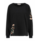 L.O.E.S. 20196 9000 loes cottonwood sweater black